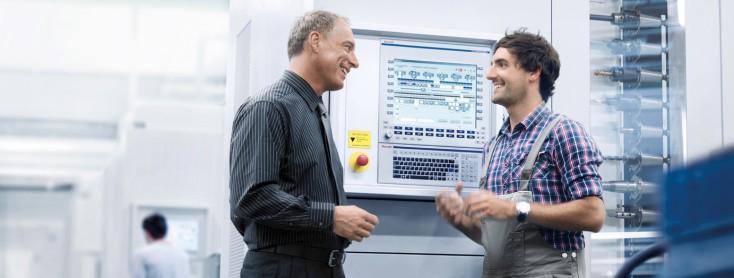 Macchine utensili ad asportazione di truciolo per processi di factory automation
