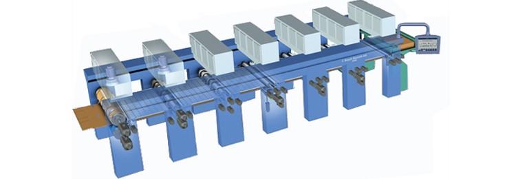Esempio di macchina per la stampa del cartone ondulato