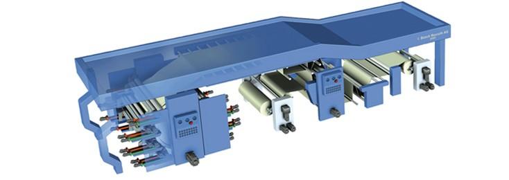 rotativa flessografica, stampa e conversione Bosch Rexroth