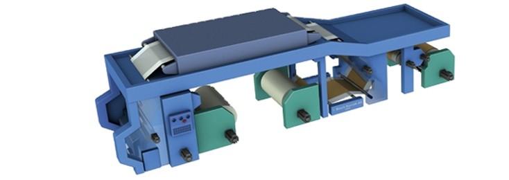 Illustrazione di una macchina per la laminatura Rexroth