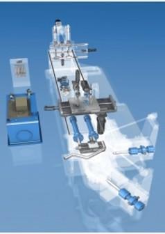Macchine per la filatura, filettatrici, piegatrici Rexroth