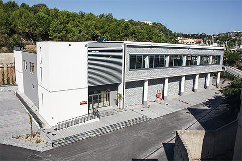 L'intero Centro ricerche è stato realizzato nell'arco di un solo anno.