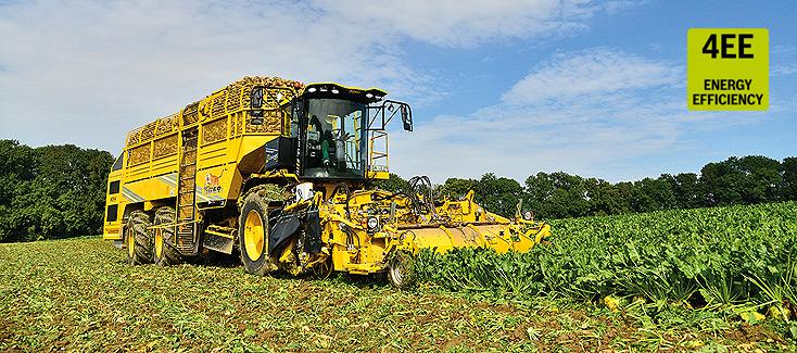 L'insieme delle sue innovazioni rende la Tiger 5 un efficiente strumento di lavoro per coltivatori di barbabietole da zucchero e contoterzisti.