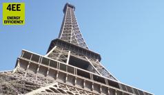 Sulla vetta della Torre Eiffel grazie all'idraulica Rexroth