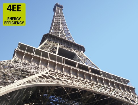 Up the Eiffel Tower with more efficient hydraulics