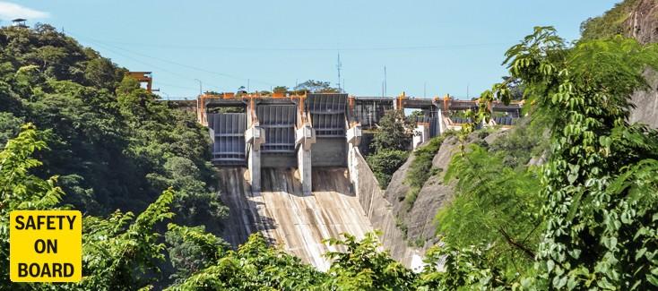 Soluzioni idrauliche per una diga messicana