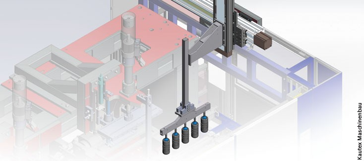 Gripper system for blow molding machines scores with speed and high repeat accuracy
