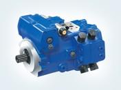 Pompa a pistoni assiali A30VG gestita con unità di controllo e funzioni software standard di Rexroth