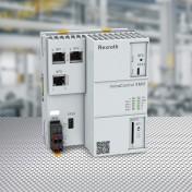 Unità di controllo IndraControl XM12 per automazione PLC in ambienti di fabbrica