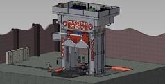 MOSSINI - Tre mega presse, diecimila tonnellate, 26 autoarticolati